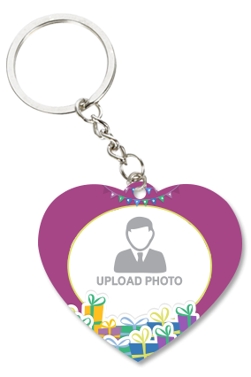 Attractive Heart Key Chain