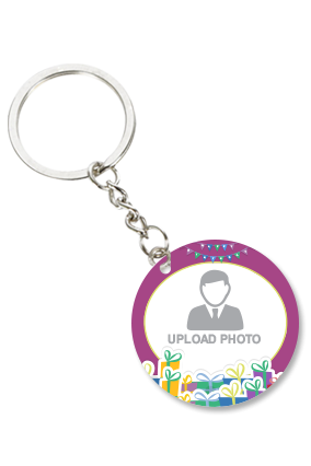 Attractive Round Key Chain