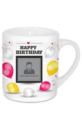 Birthday Balloons Tea Mug
