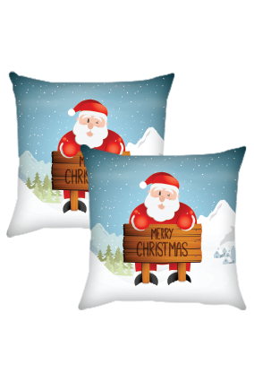 Christmas Celebration Cushion Cover