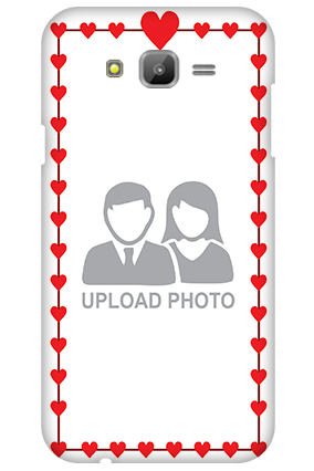 Samsung Galaxy J7 Heart Valentine's Day Mobile Cover