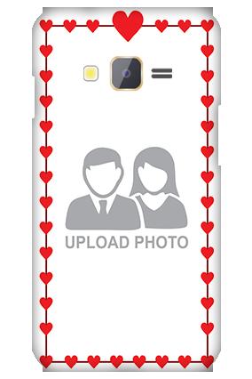 Samsung Z1 Heart Valentine's Day Mobile Cover