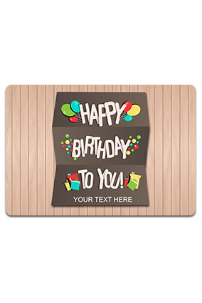 Customized Wishes Table Mat