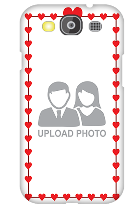 Personalised Samsung Galaxy S3 Neo Heart Valentine's Day Mobile Cover