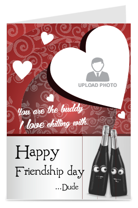 Friendship Day Buddy Card