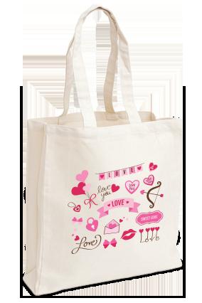 Customize Love Dose Tote Bag