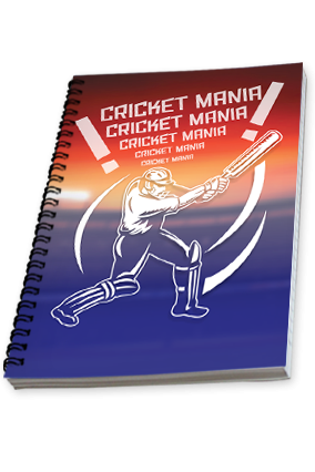 Crazy For Cricket Notebook