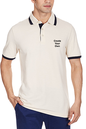 Create Your Own White Polo T-Shirt - 83272610