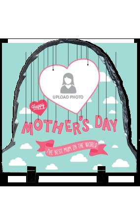 Best Mother's Day Round Photo Rock