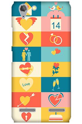 Lenovo Vibe K5 Plus Creative Valentine's Day Mobile Cover