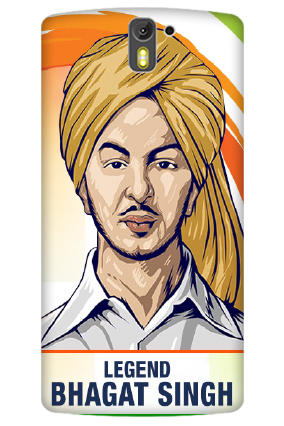 3D- Legend Bhagat Singh Oneplus One  Mobile Cover