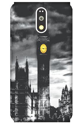 3D Motorola Moto G4 Plus Clock Mobile Cover