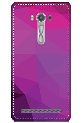 3D - Asus Zenfone 2 Laser ZE550KL Purple Mobile Cover