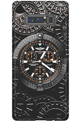Personalized 3D-Samsung Galaxy Note 8 Watch Theme Mobile Cover