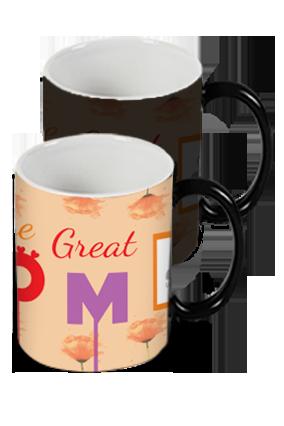 Great Mom Black Magic Mug