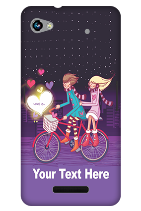 Customized 3D-Micromax Canvas Hue 2 A316 Ride Valentine'S Day Mobile Cover