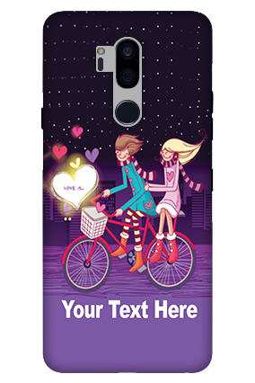 3D-LG G7 Plus ThinQ Ride Valentine's Day Mobile Cover