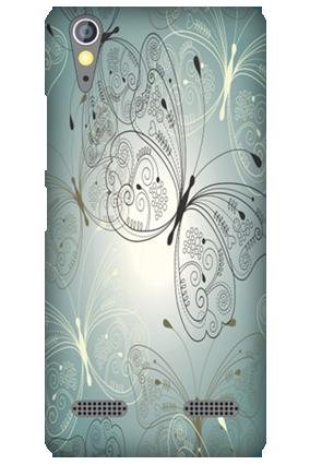 Lenovo A6000 Floral Mobile Cover