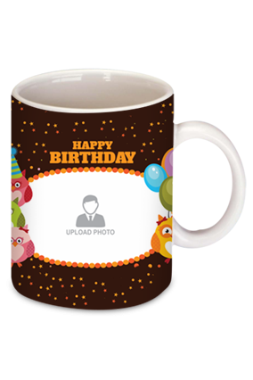 Gemmed Birthday Coffee Mug