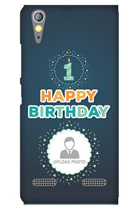 Amazing Lenovo A6000 Happy Birthday Mobile Cover