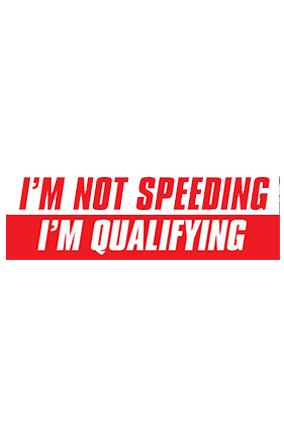 No Speeding Bumper Sticker