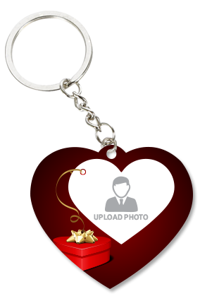 Birthday Gifts Heart Key Chain