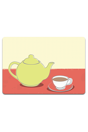 Personalized Tea Time Table Mat