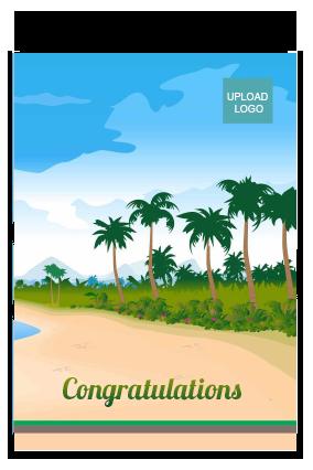 Merry Congratulations Card