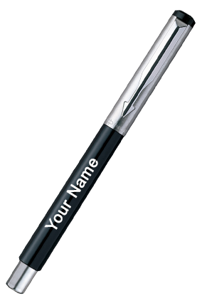 Parker-Vector Metallix Fp Black (F)With Quink 9000017256 Fountain Pen