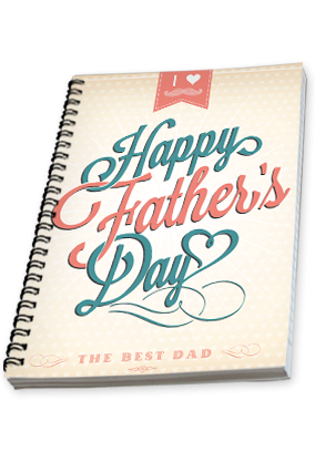 Happy Fathers Day Notebook