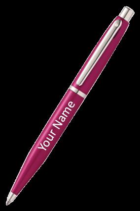 Sheaffer Pink Sapphire Featuring Nickel Plate Trim 9416 Bp Pen