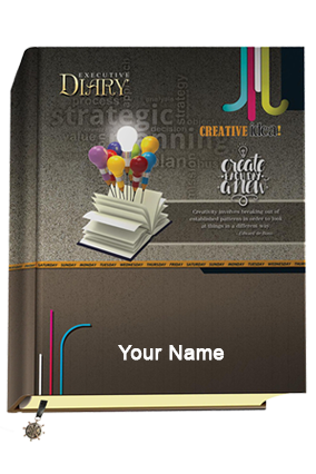 Customized Nescafe Creative Idea Diary With Planner 9074