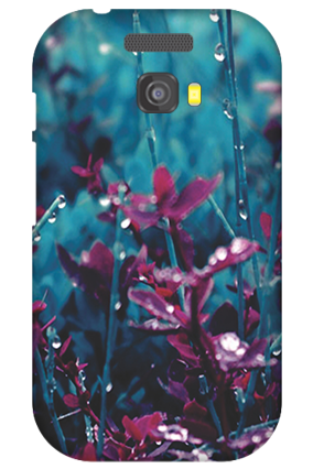 Silicon - Micromax Bolt A064 Gardenic Mobile Cover