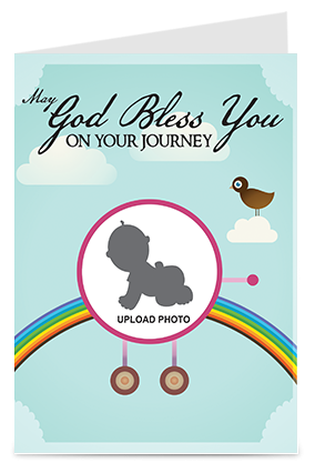 Amazing God Bless You Greeting Card