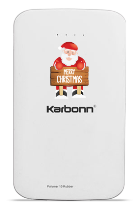 Fun & Flora Karbonn 10000mAh Power Bank