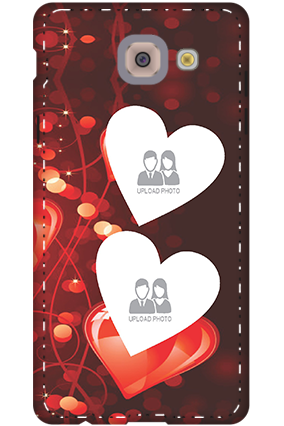 3D-samsung galaxy j7 Max True Love Valentine's Day Mobile Cover