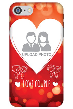 3D - IPhone 7 Love Couple Valentine's Day Mobile Cover