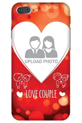 3D -  IPhone 7 Plus Love Couple Valentine's Day Mobile Cover