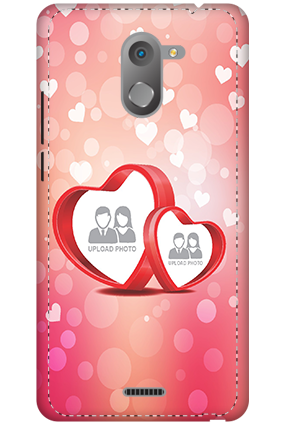 3D - Infinix Hot 4 Floral Hearts Anniversary Mobile Cover