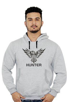 Eagle Hunter Full Sleeves Hoodie