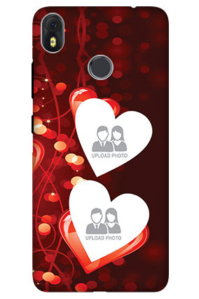3D-Infinix Hot S3 True Love Valentine'S Day Mobile Cover