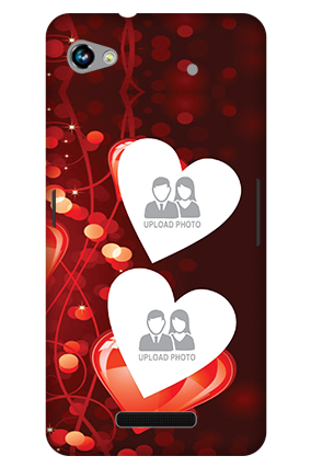 3D-Micromax Canvas Hue 2 A316 True Love Valentine'S Day Mobile Cover