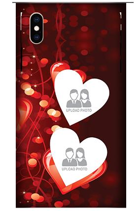 Custom Apple iPhone XS Max True Love Valentine's Day Mobile Cover