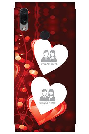 3D-Xiaomi Redmi Note 7 Ride True Love Valentine'S Day Mobile Cover