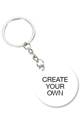 Design Your Own Round Key Chain