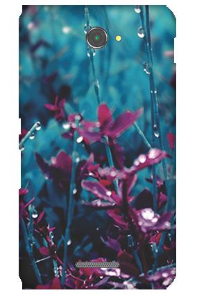 Silicon - Sony Xperia E4 Gardenic Mobile Cover