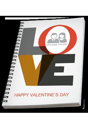 Premium Love Valentine's Day Notebook