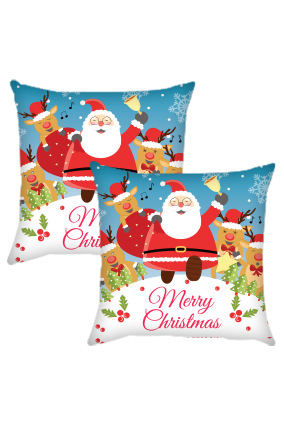 Christmas Santa Cushion Cover
