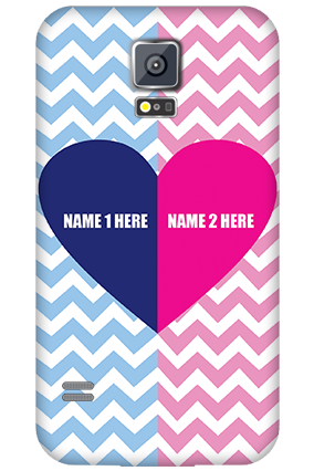 Samsung Galaxy S5 My Love Valentine's Day Mobile Cover