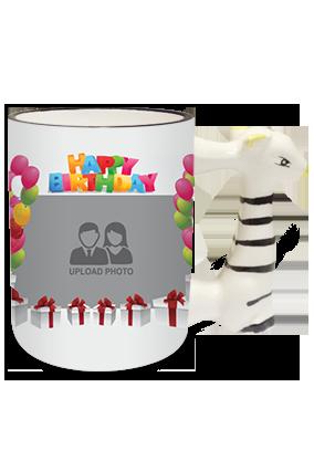 Different Zebra Handle Mug